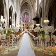 Cerimônia de casamento na igreja
