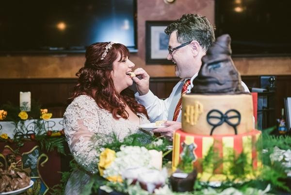 Bolos de casamento diferentes e divertidos