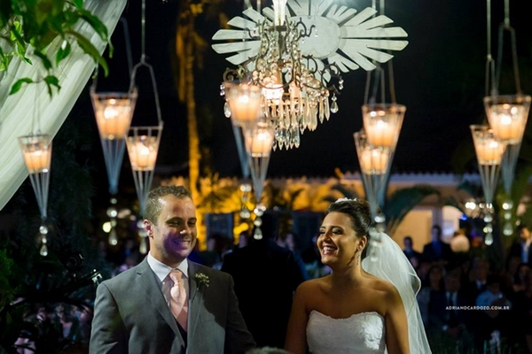 Ideias criativas para iluminar o casamento