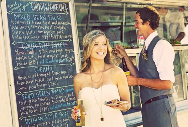 Food trucks são tendência em casamentos