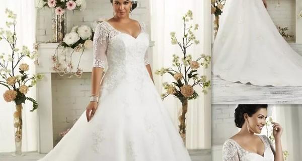 4d358b375 Noivas plus size: dicas para escolher o vestido perfeito | Casa de ...