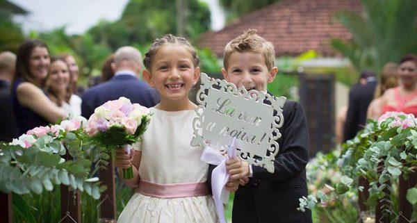 Devemos ou não convidar crianças para o casamento