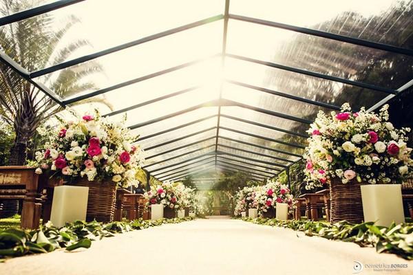 Flores no casamento